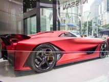 Juegos Olímpicos del coche 2020 del concepto en Ginza Nissan Crossing Store, Tokio, Japón imagen de archivo