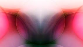 Juegos subacuáticos abstractos con las bolas, las burbujas y la luz de la jalea Imagenes de archivo