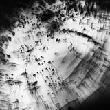 Juegos subacuáticos abstractos con las burbujas, las bolas de la jalea y la luz Foto de archivo