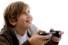 Juegos video que juegan adolescentes Fotografía de archivo libre de regalías