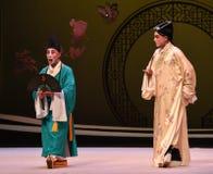 """Juegue bajo la orientación de un  del oeste de Chamber†del """"the de la ópera del monje-Kunqu imágenes de archivo libres de regalías"""