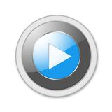 Juegue el botón Imágenes de archivo libres de regalías
