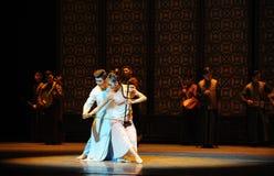 juegue el preludio del erhu-The de los eventos del drama-Shawan de la danza del pasado Imagen de archivo libre de regalías