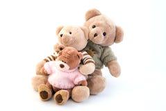 Juegue sentarse de los osos imagen de archivo libre de regalías