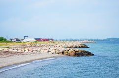 Juelsminde, Dinamarca Imagenes de archivo