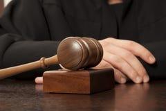 juez Imágenes de archivo libres de regalías