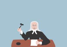 Juez stock de ilustración