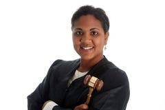 Juez de la mujer Foto de archivo libre de regalías