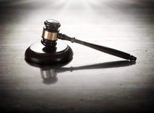 Juez del mazo Imagen de archivo libre de regalías