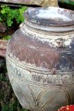 Jug. Ornamental jug in a garden Stock Photography
