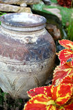 Jug. Ornamental jug in a garden Royalty Free Stock Photography