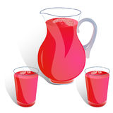 Jug Royalty Free Stock Images