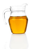 Jug with apple juice Royalty Free Stock Images