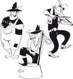 Jug band clip-art stock illustration