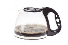 Jug black coffee Stock Photo