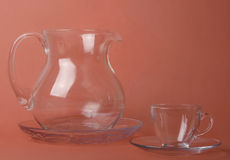 Jug and cup Royalty Free Stock Photo