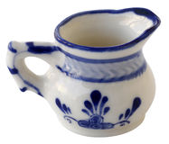 Jug (the Dutch style). Objects with Clipping Paths Stock Photography