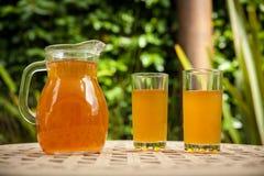 Jug of icead tea Stock Photography