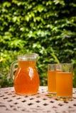 Jug of icead tea Royalty Free Stock Photos