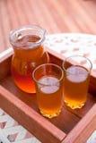 Jug of icead tea Stock Photo