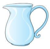 Jug. Illustration of a glass jug Royalty Free Stock Photography