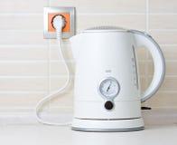 Jug kettle water warmer Stock Photo