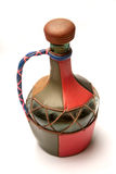 Jug with leather details Royalty Free Stock Photography