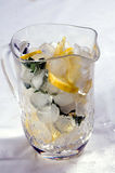 Jug of lemonade Stock Images