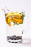 Jug of lemonade Stock Photography