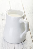 Jug with milk Royalty Free Stock Photo