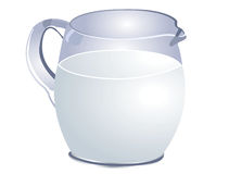Jug of milk Royalty Free Stock Photography