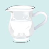 Jug of milk Royalty Free Stock Image