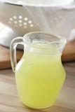 Jug with whey Stock Photos