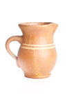 Jug on white background Royalty Free Stock Photography
