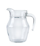Jug on white background.