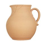 Jug on white background Royalty Free Stock Photo
