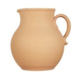 Jug on white background Stock Image