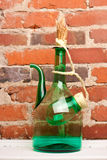 Jug Wine Close Stock Photo