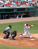 Jugador Albert Pujols de los cardenales de MLB St. Louis imagenes de archivo
