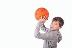 Jugador de básquet Fotografía de archivo libre de regalías