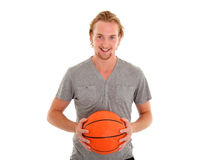 Jugador de básquet Foto de archivo libre de regalías