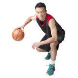Jugador de básquet asiático Foto de archivo libre de regalías