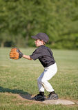 Jugador de béisbol foto de archivo