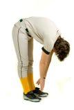 Jugador de béisbol Imagenes de archivo