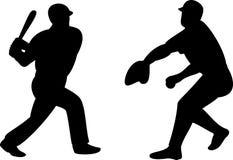 Jugador de béisbol Fotos de archivo libres de regalías