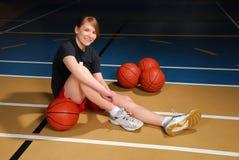 Jugador de básquet Imagen de archivo