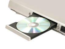 Jugador de CD/DVD. Fotos de archivo libres de regalías