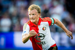 Jugador de Dirk Kuyt de Feyenoord Rotterdam Fotografía de archivo