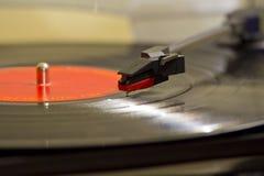 Jugador de disco de vinilo Fotografía de archivo