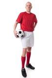 Jugador de fútbol Imagen de archivo